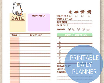 7 Best Images of Printable Kawaii To Do List Template ...