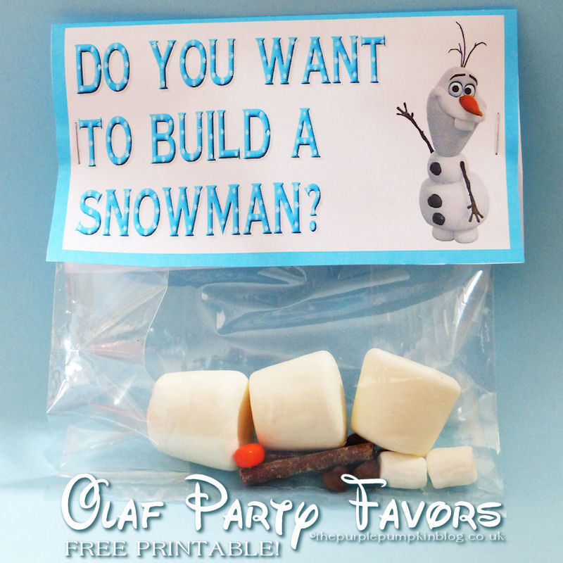 8 Images of Olaf Frozen Party Printables