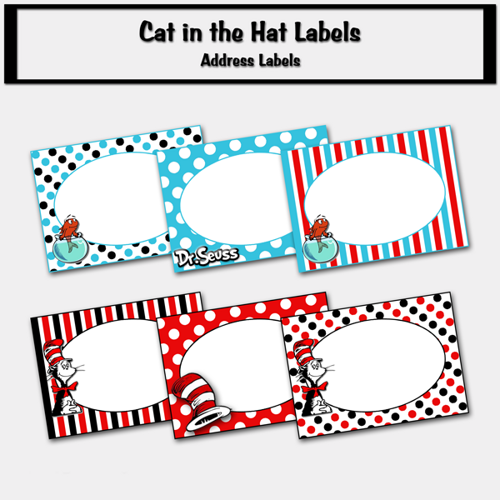 Dr. Seuss Free Printable Labels