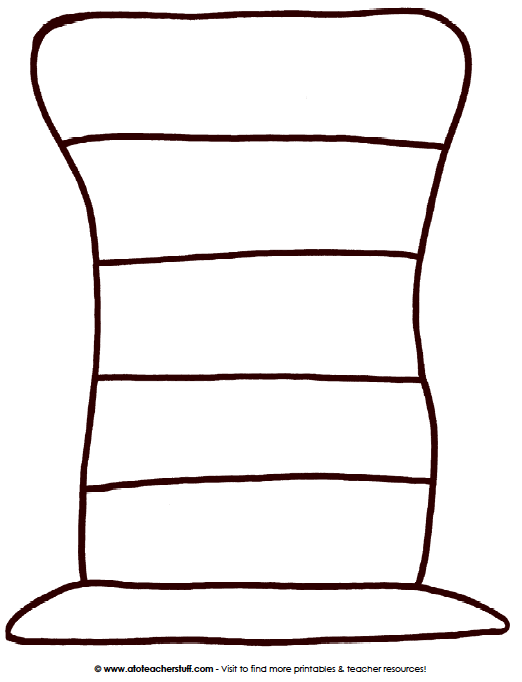 Dr. Seuss Hat Template