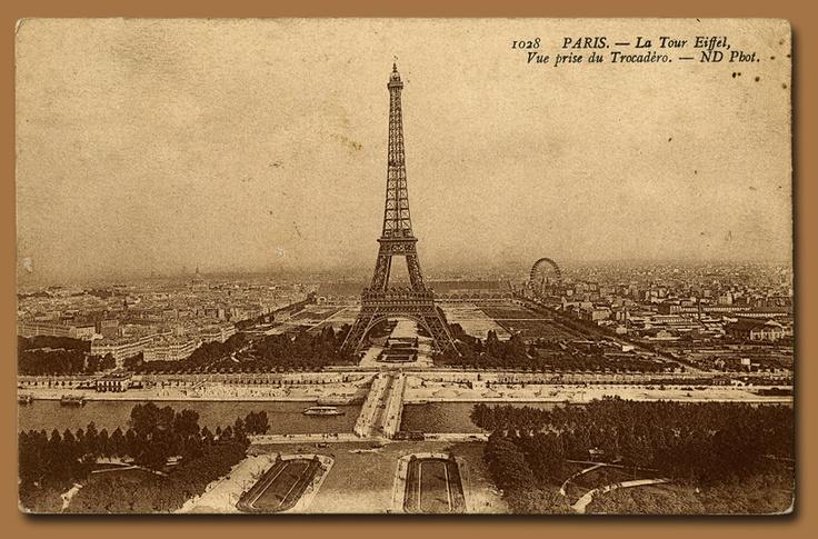 7 Images of La Tour Eiffel Printable