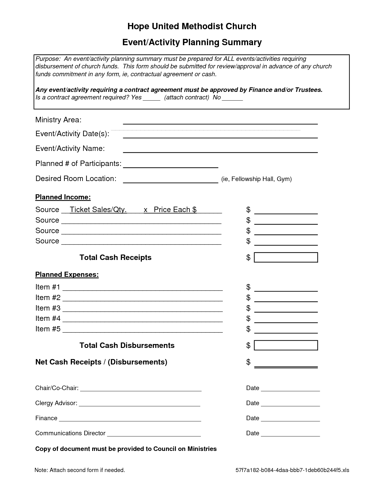 event management agreement template 7 best images of event planning forms free printable