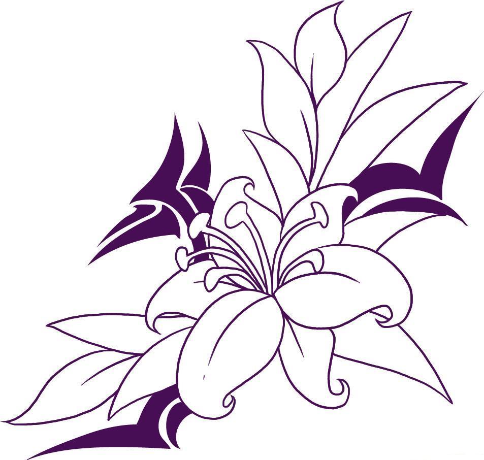 6 Best Images Of Hawaiian Flower Stencils Printable