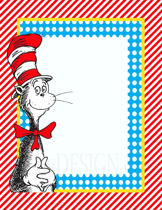 Free Dr. Seuss Templates