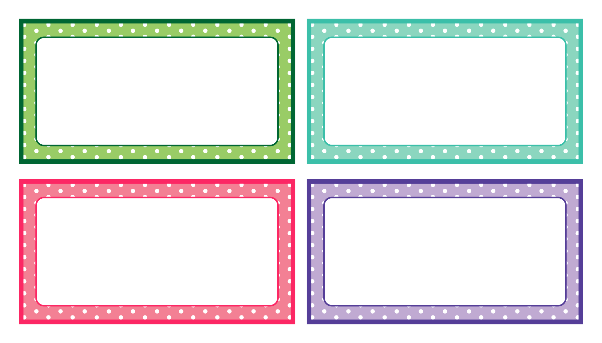 Editable Printable Labels Templates