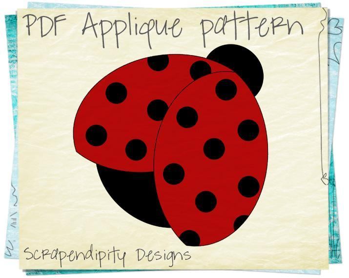 4 Images of Free Printable Ladybug Pattern