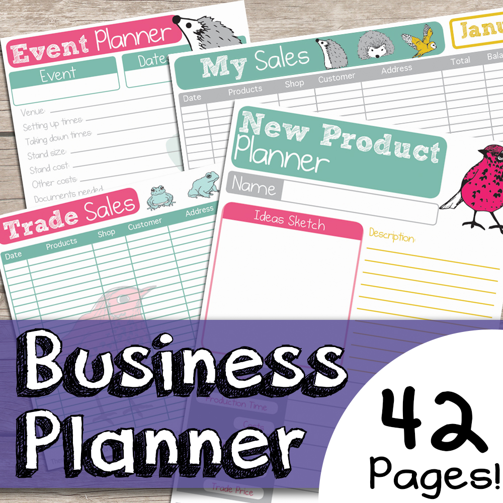 Free Printable Business Planner Pages