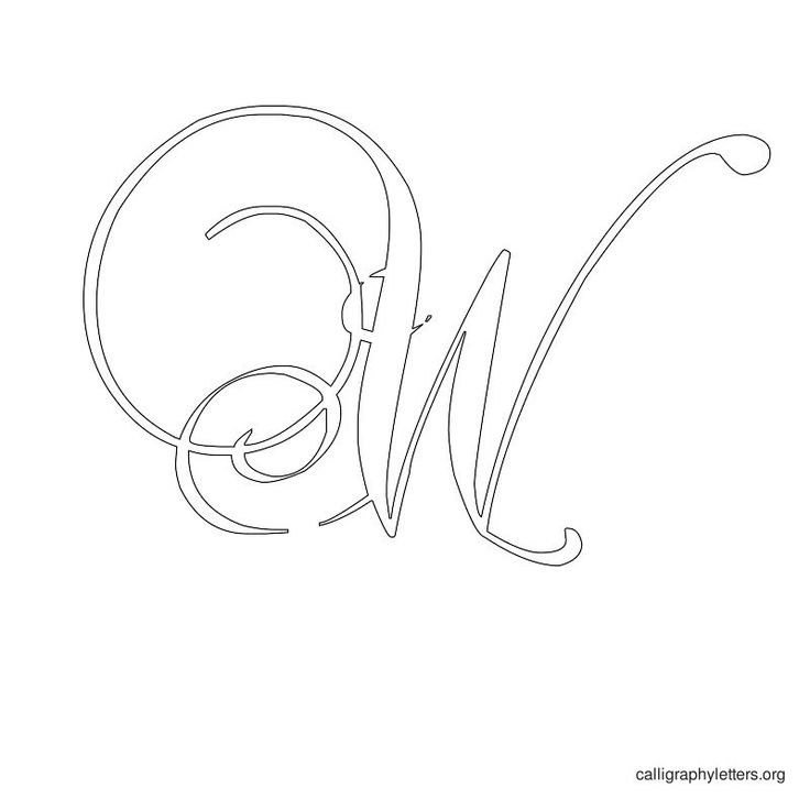 Best images of monogram letter stencils free printable