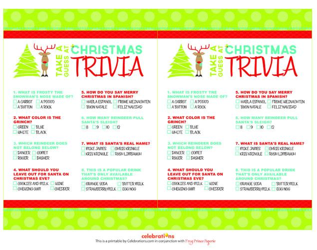 5 Images of Free Christmas Holiday Printable Games