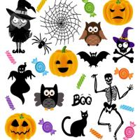 Free Printable Halloween Stickers