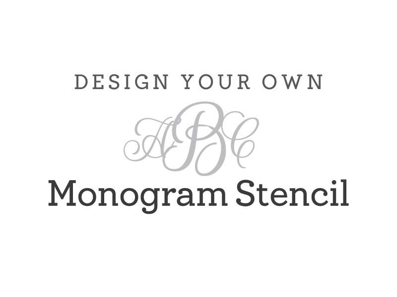 Free Printable Monogram Stencils