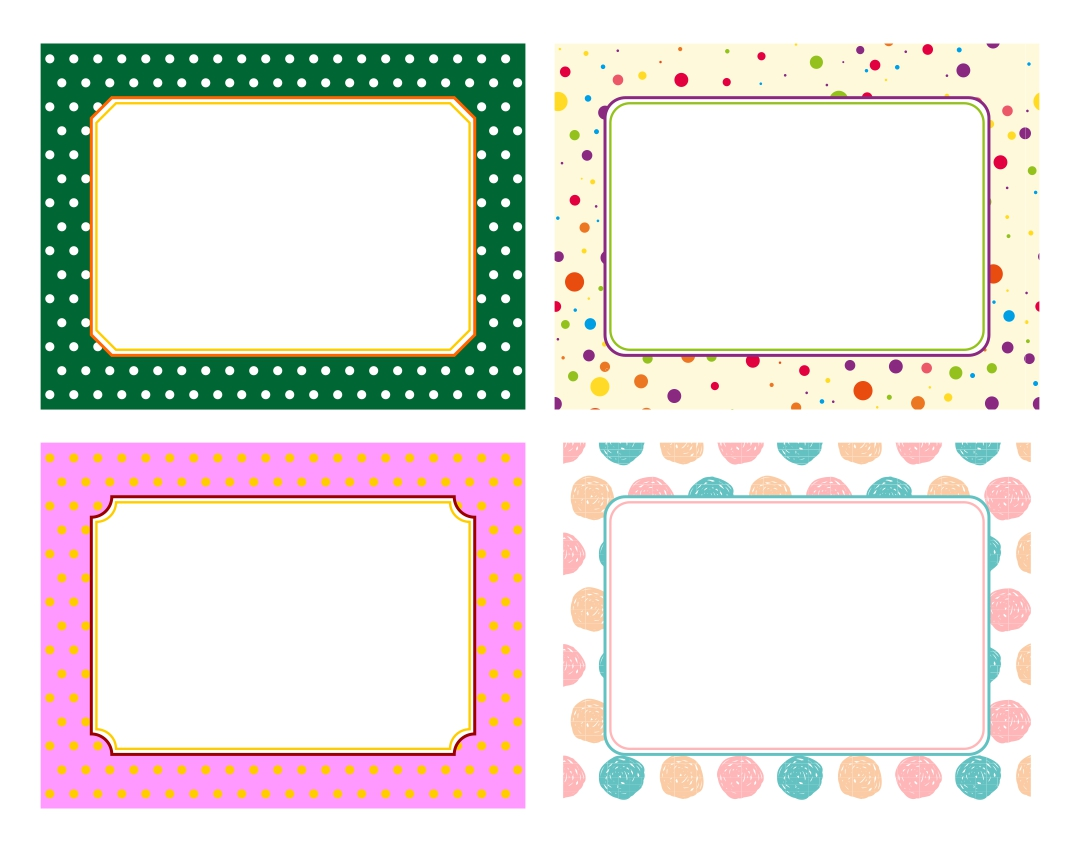 9 Images of Free Printable Labels Editable