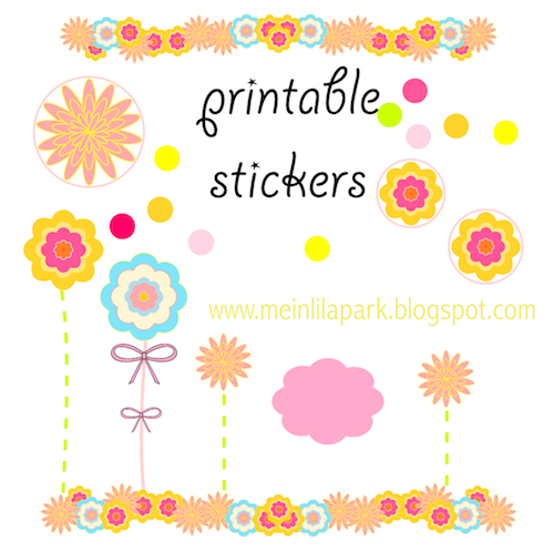 5 Images of Printable Sticker Templates