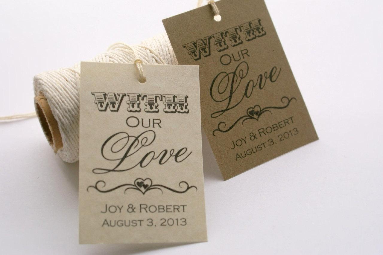 Tags Template - Free Printable Wedding Favor Tags, Printable Gift Tags ...
