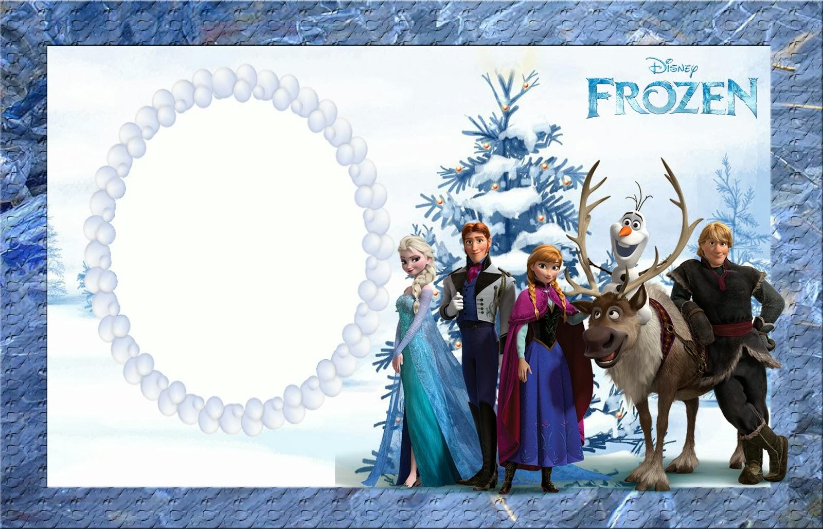 Frozen Birthday Party Invitation Template Free