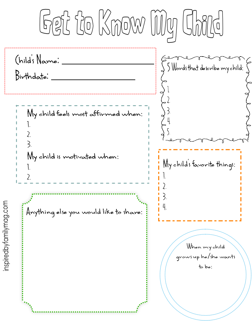 Worksheets Getting To Know Me Worksheet 6 best images of getting to know me printables get my teacher printables