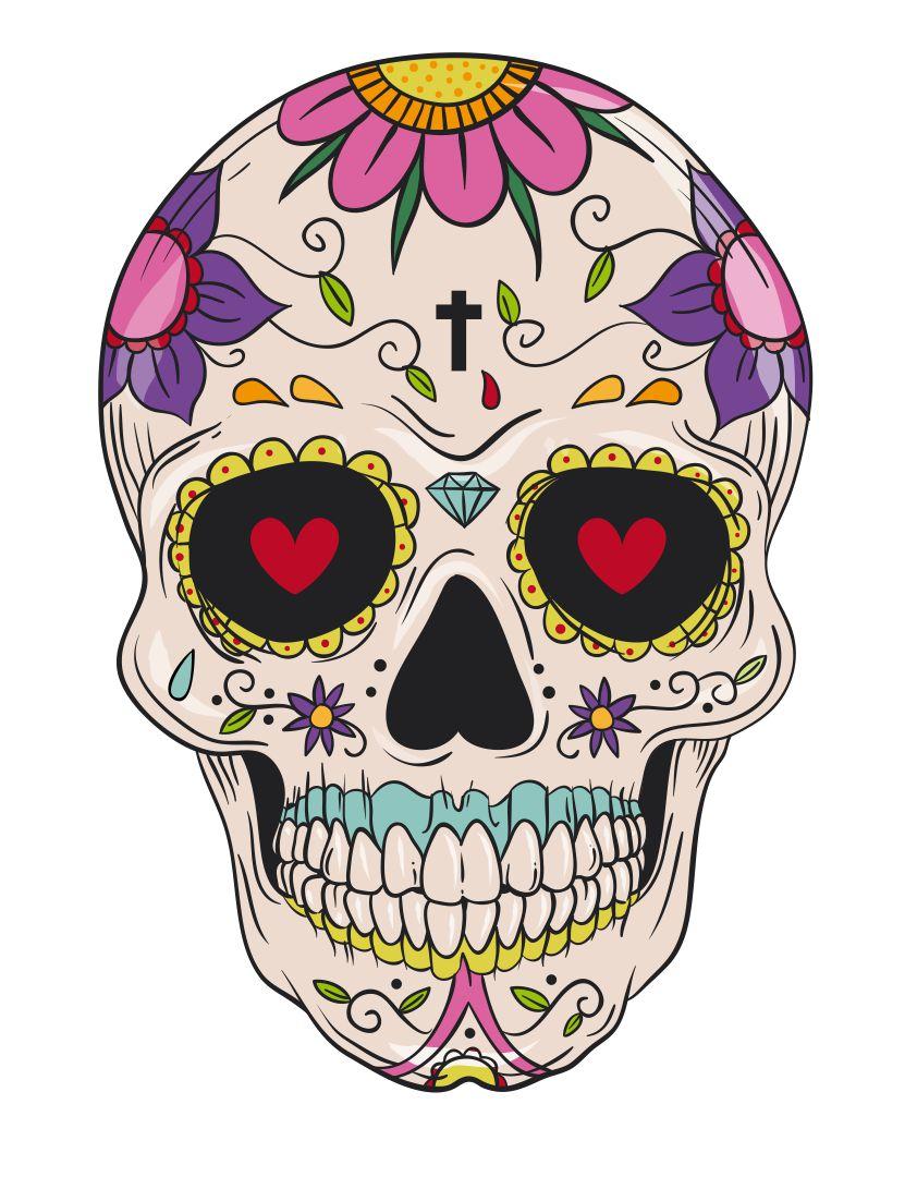 Halloween Skull Printables