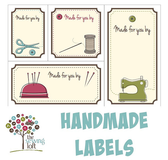 9 Images of Printable Quilt Labels
