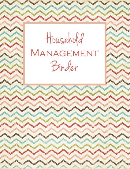 7 Images of Printable Home Management Binder Cover