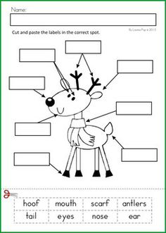 6 Best Images of Christmas Free Printable Language Worksheets ...