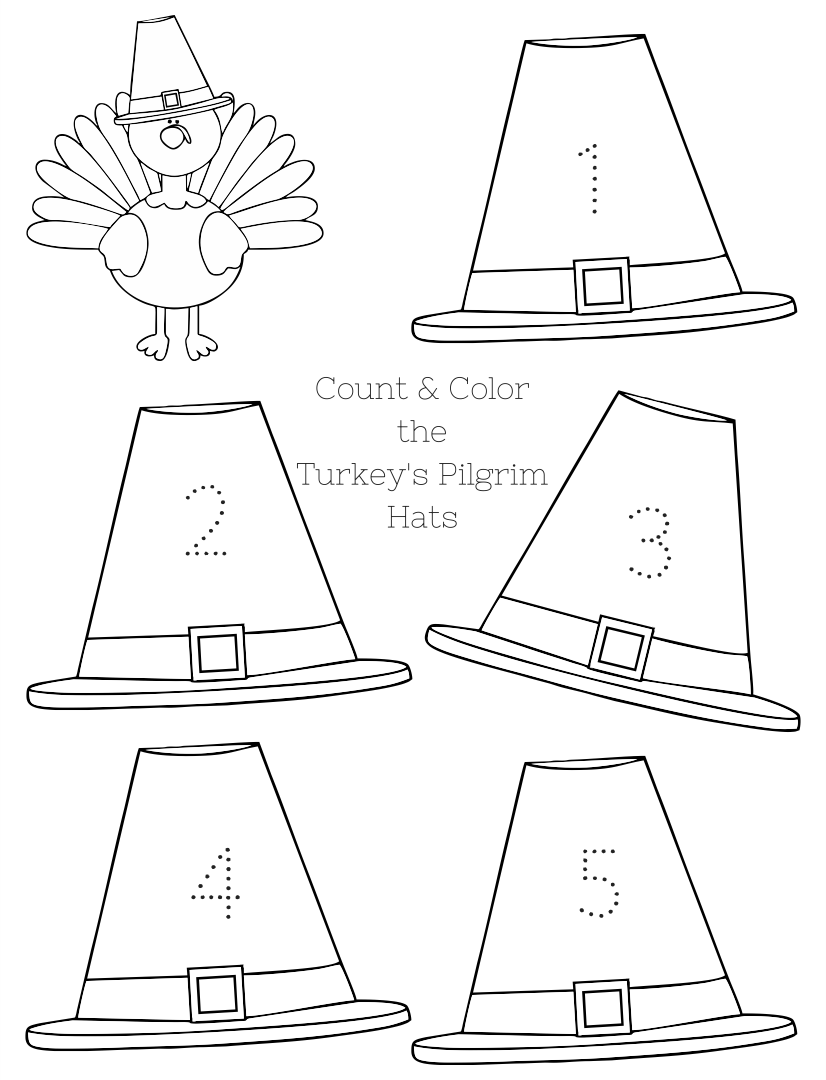 Number Names Worksheets » Free Printable Thanksgiving Activities ...