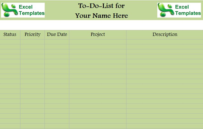 Printable to Do to Get Organized Lists
