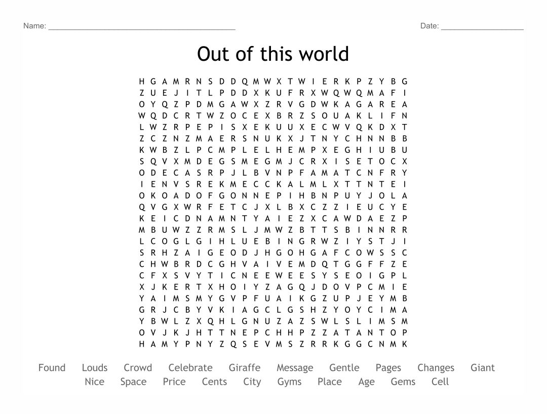 Modest image in 100 word word search printable