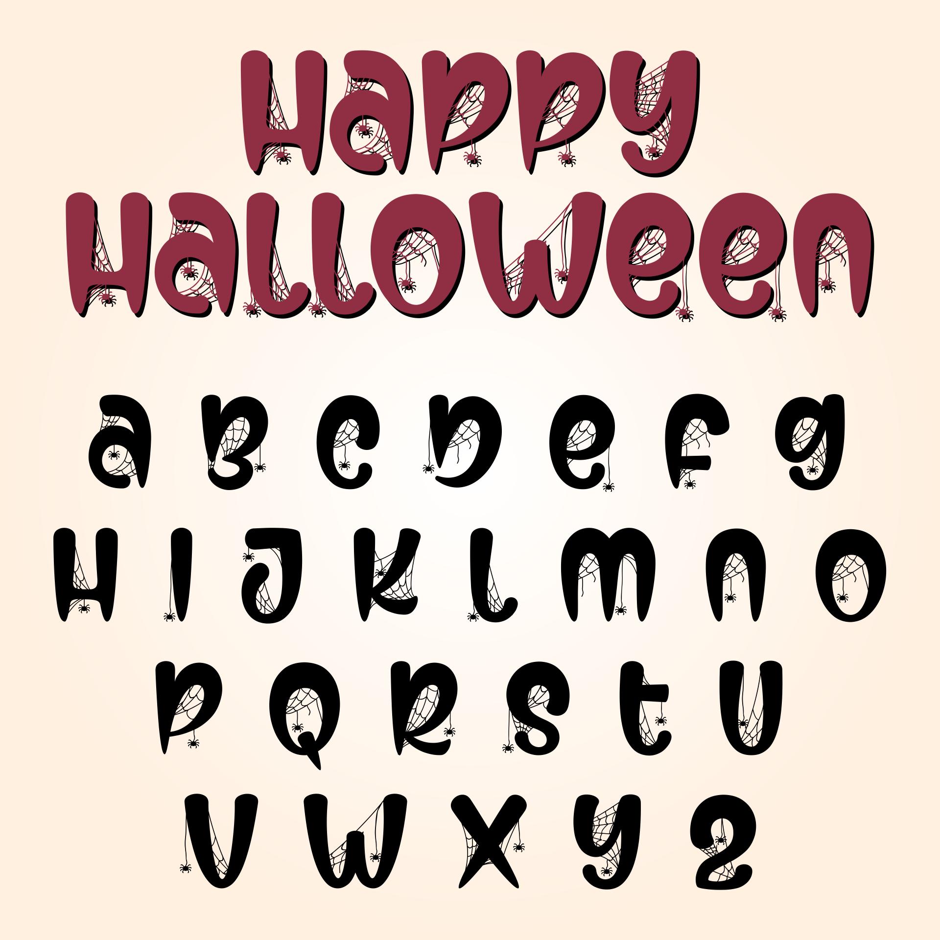 Printables & Halloween Fonts