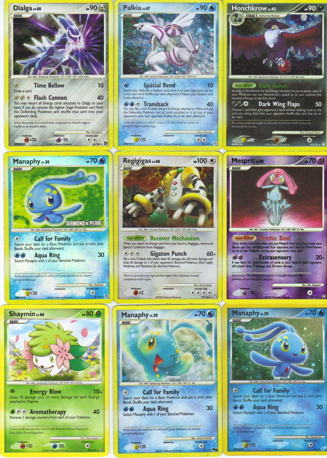 6 Images of Printable Pokemon Cards That Print