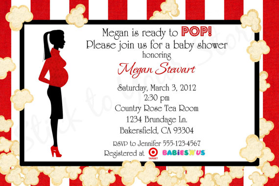 7 Images of Ready To Pop Printable Invitations