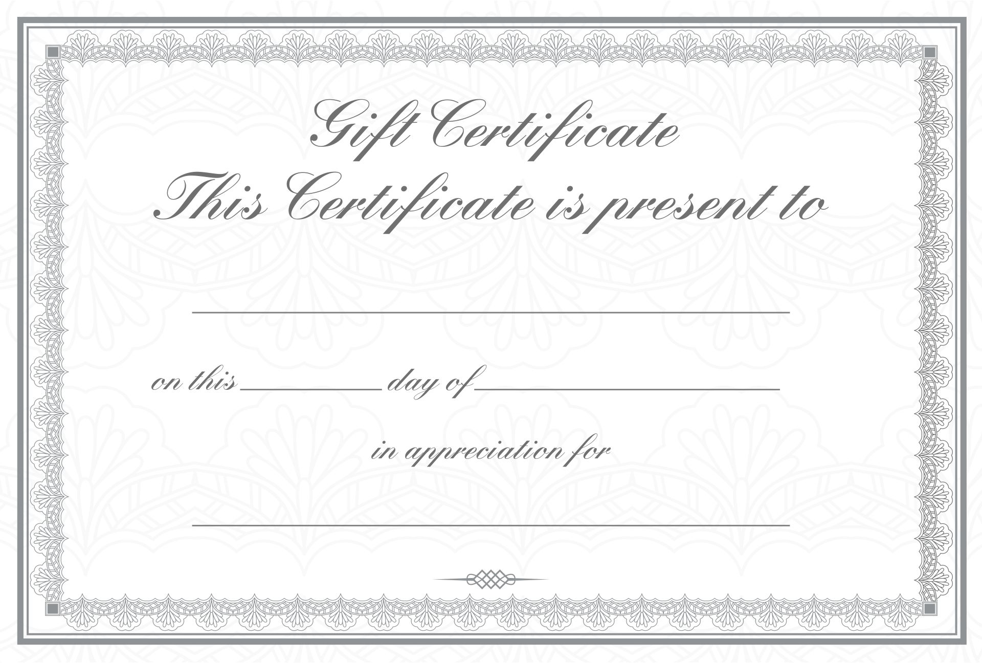 Gift Certificate Wording Pictures to Pin PinsDaddy – Gift Certificate Wording