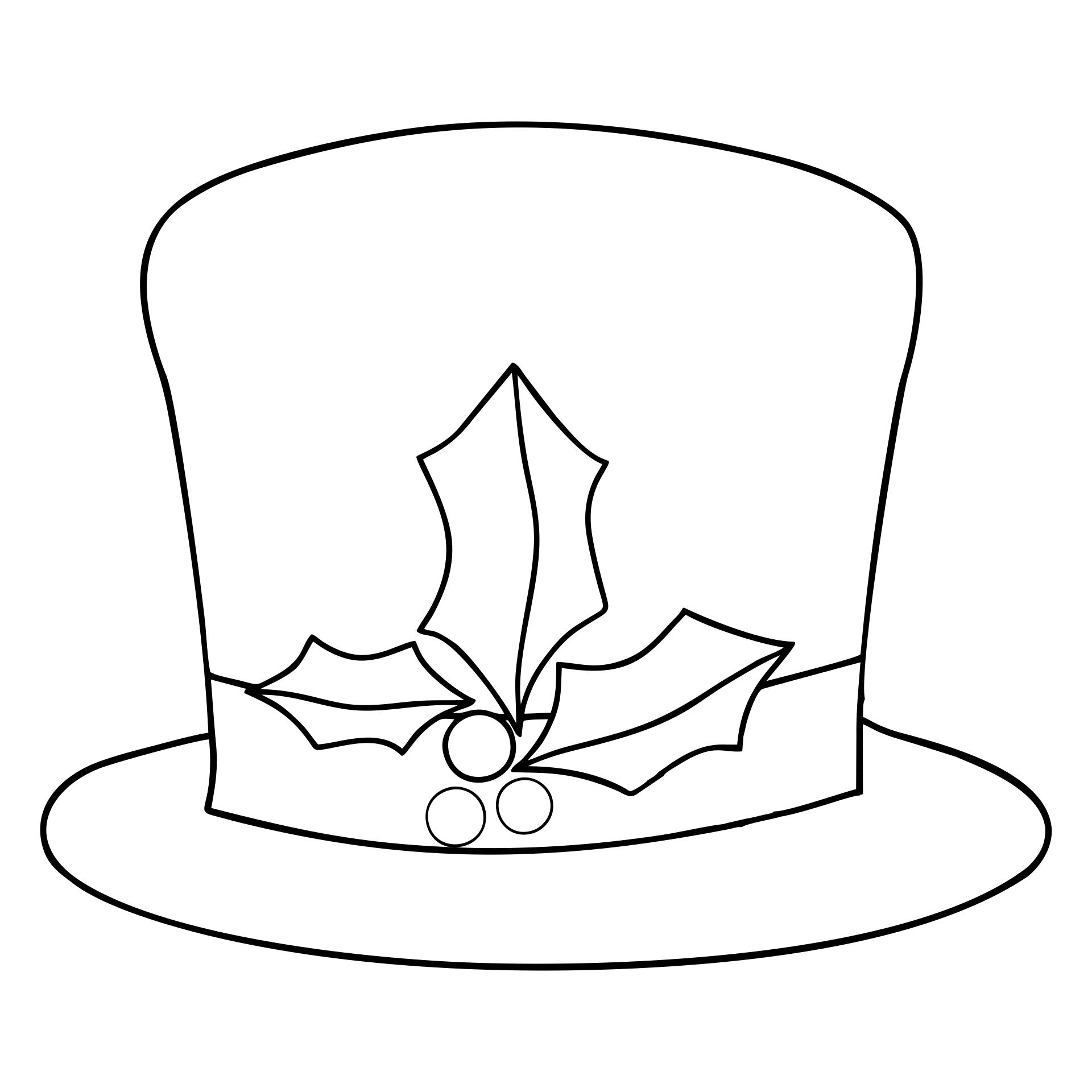 6 Images of Felt Snowman Hat Template Printable