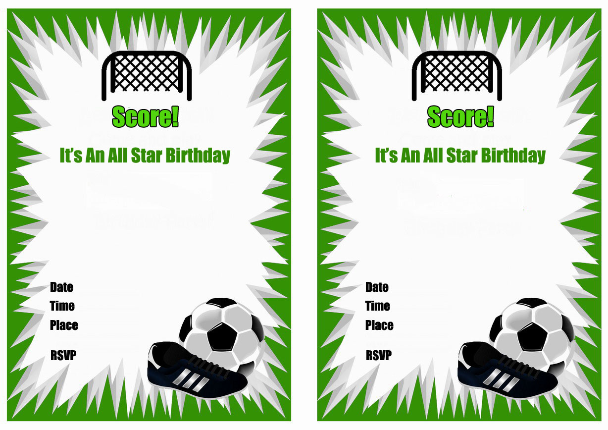 8 Best Images of Soccer Birthday Printable Party ...
