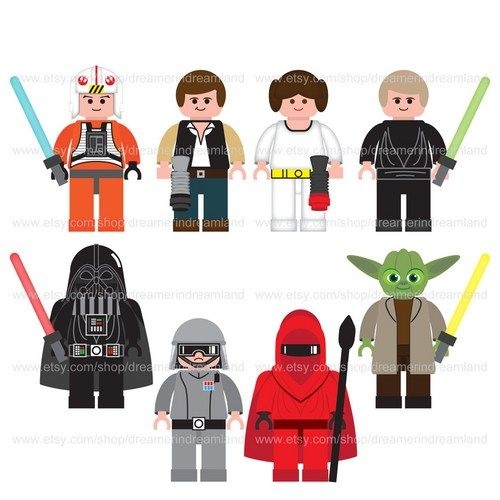 6 Images of Printable Star Wars Clip Art