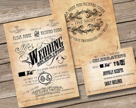 antique gold wedding invitations. vintage fl frame wedding, Wedding invitations