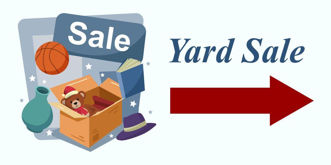 Yard Sale Signs Printable