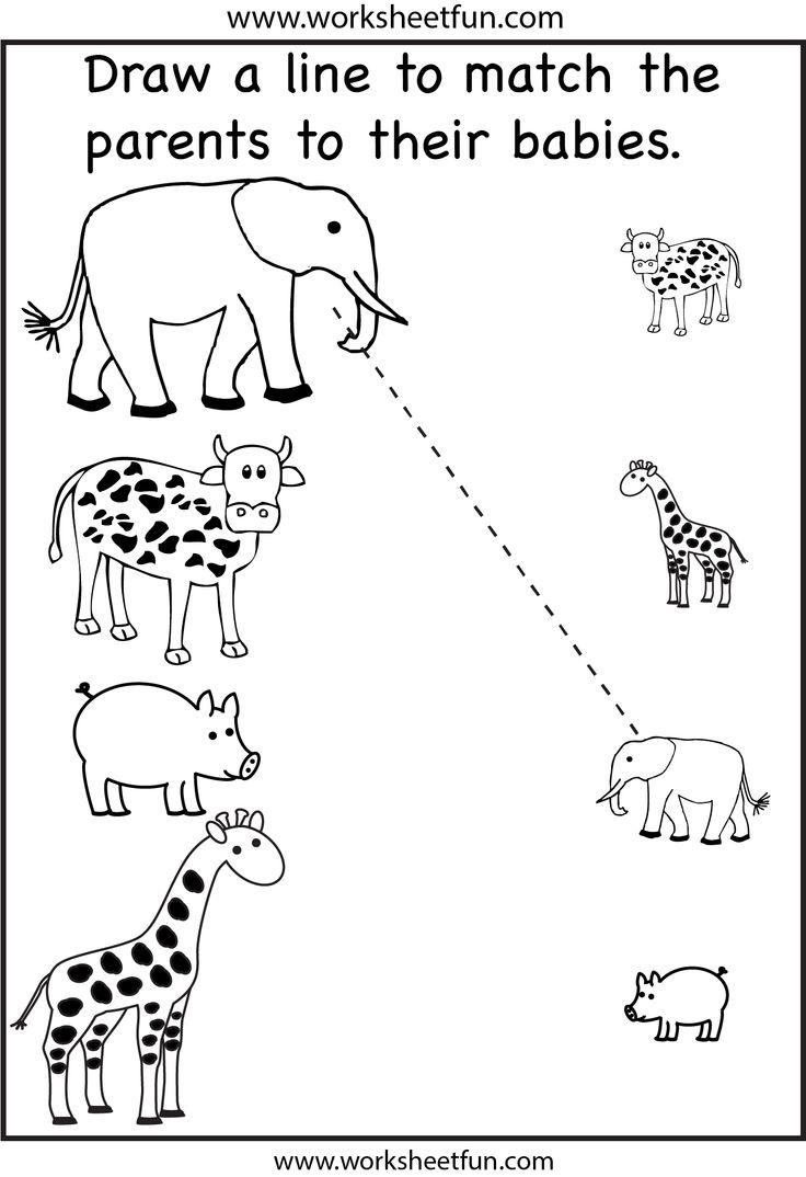 7 Best Images of Printable Worksheets For Preschool Fun - Free ...