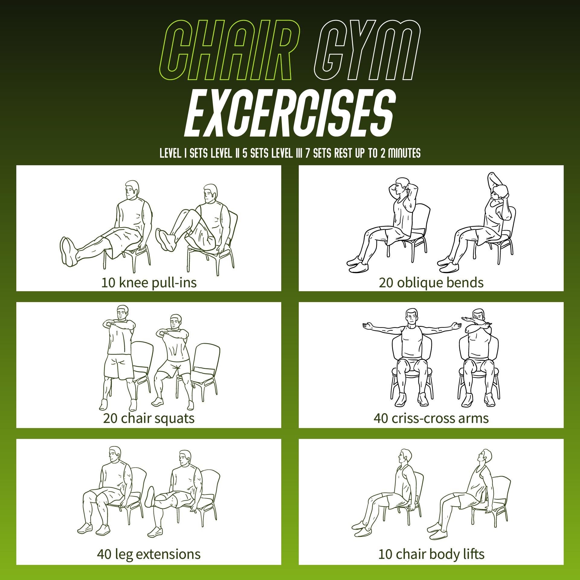 Best Chair Exercises for Seniors