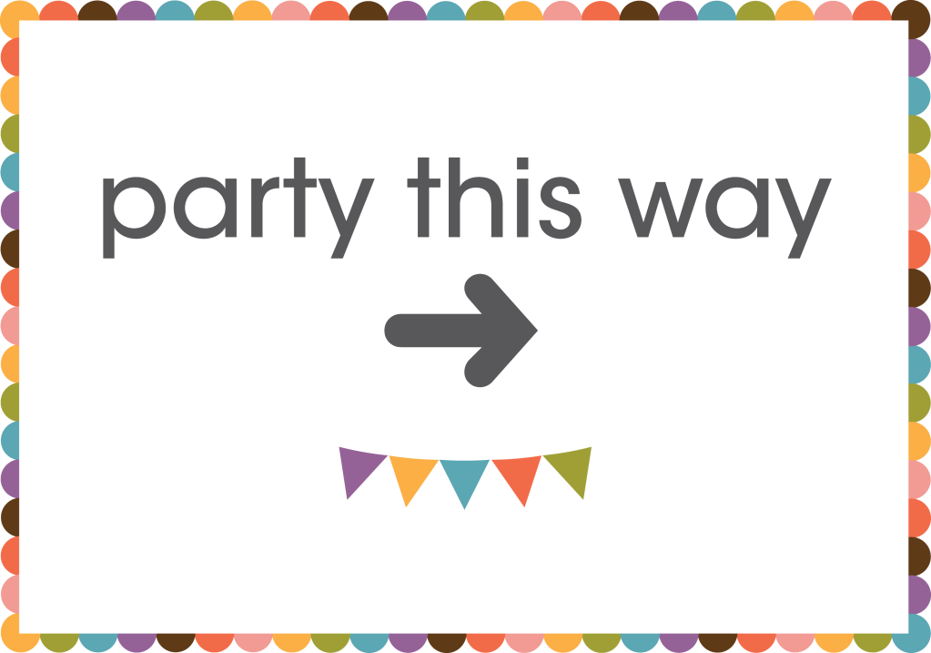 5 Images of Free Printable Party Signs Art