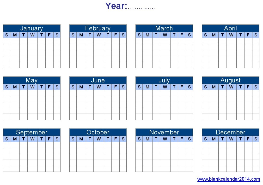 8 Images of Printable Yearly Planner Templates