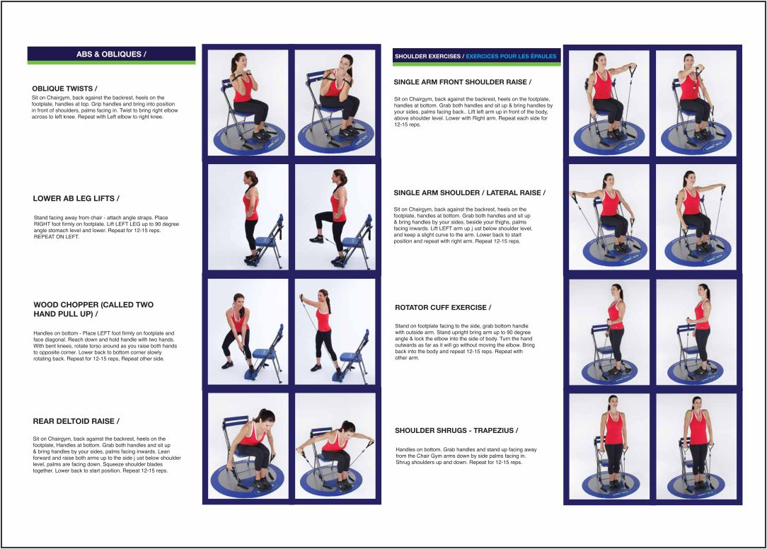 Free Printable Chair Exercises For Seniors Poses