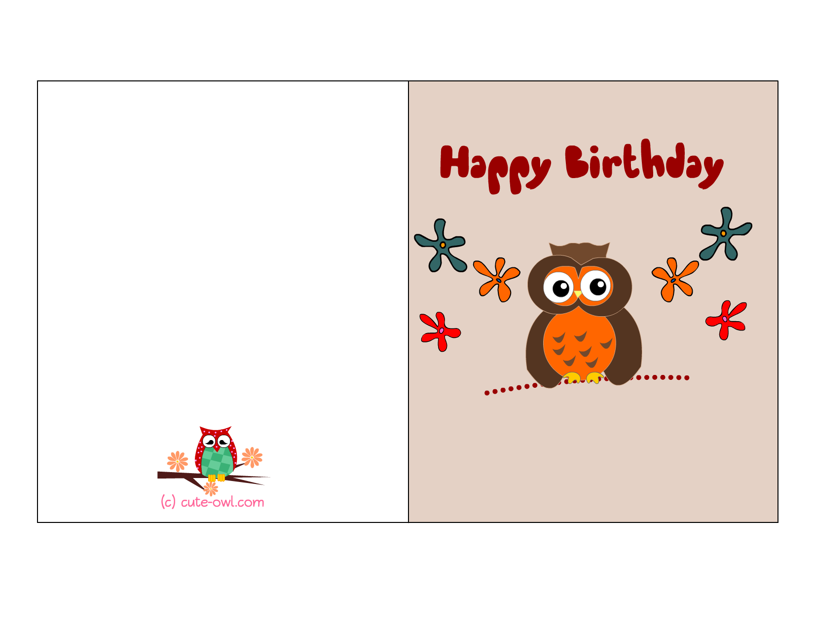 Free Printable Birthday Cards to Print