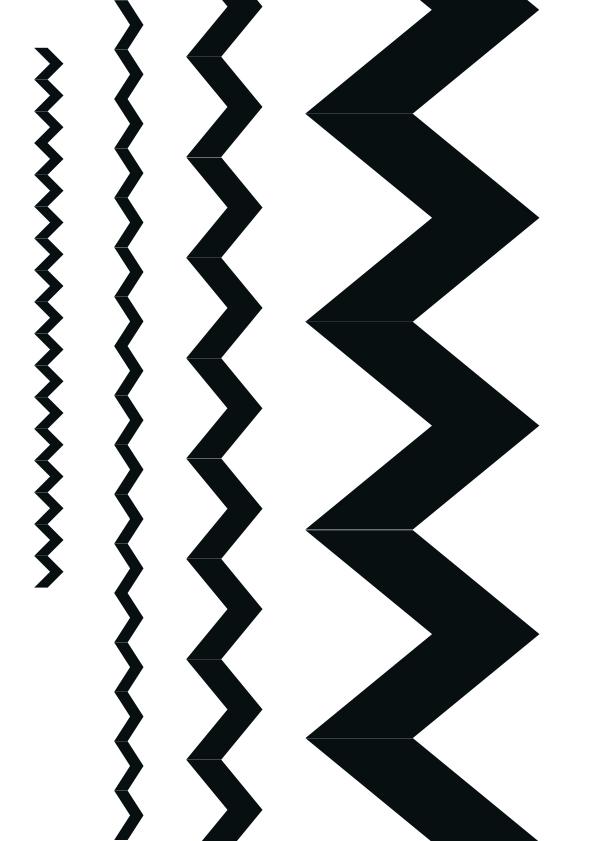 Free Printable Chevron Pattern Stencil