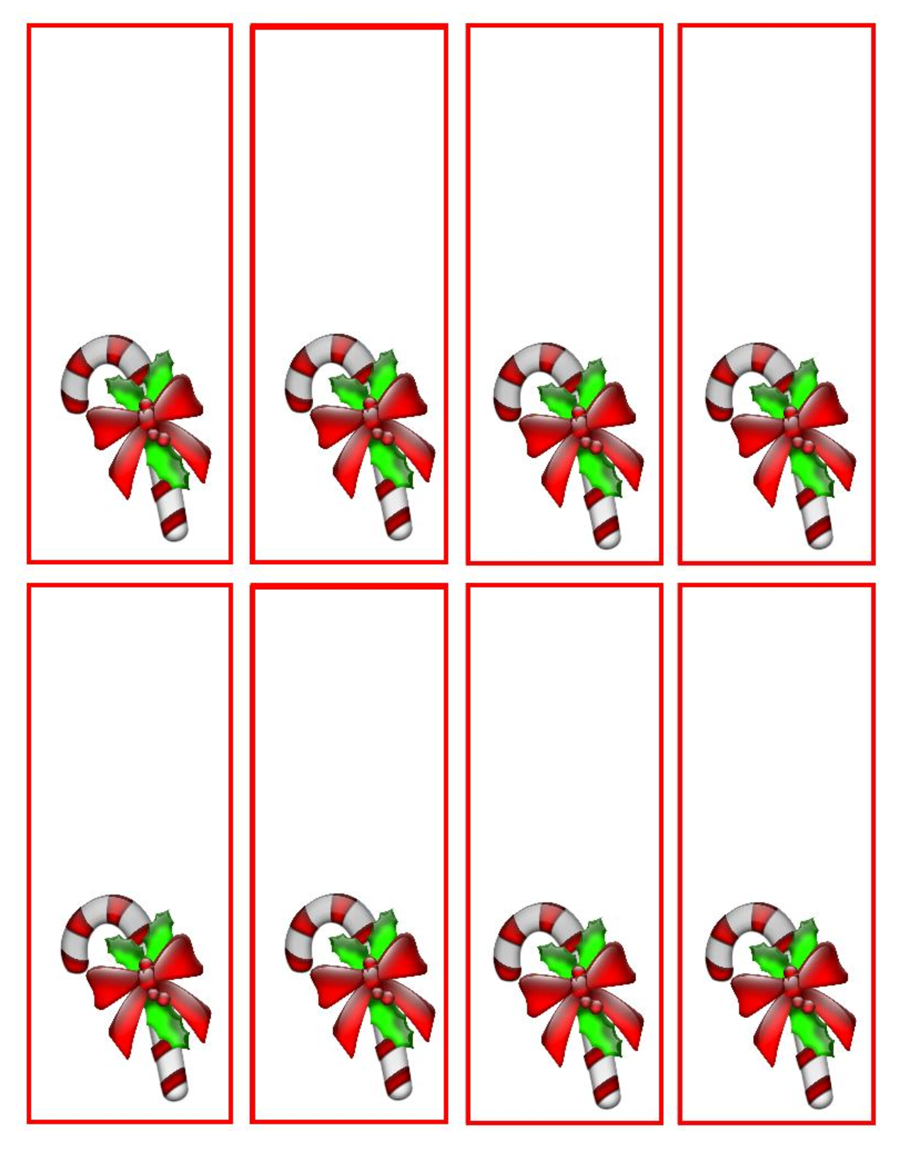 8 Best Images of Printable Candy Cane Gram Templates ...