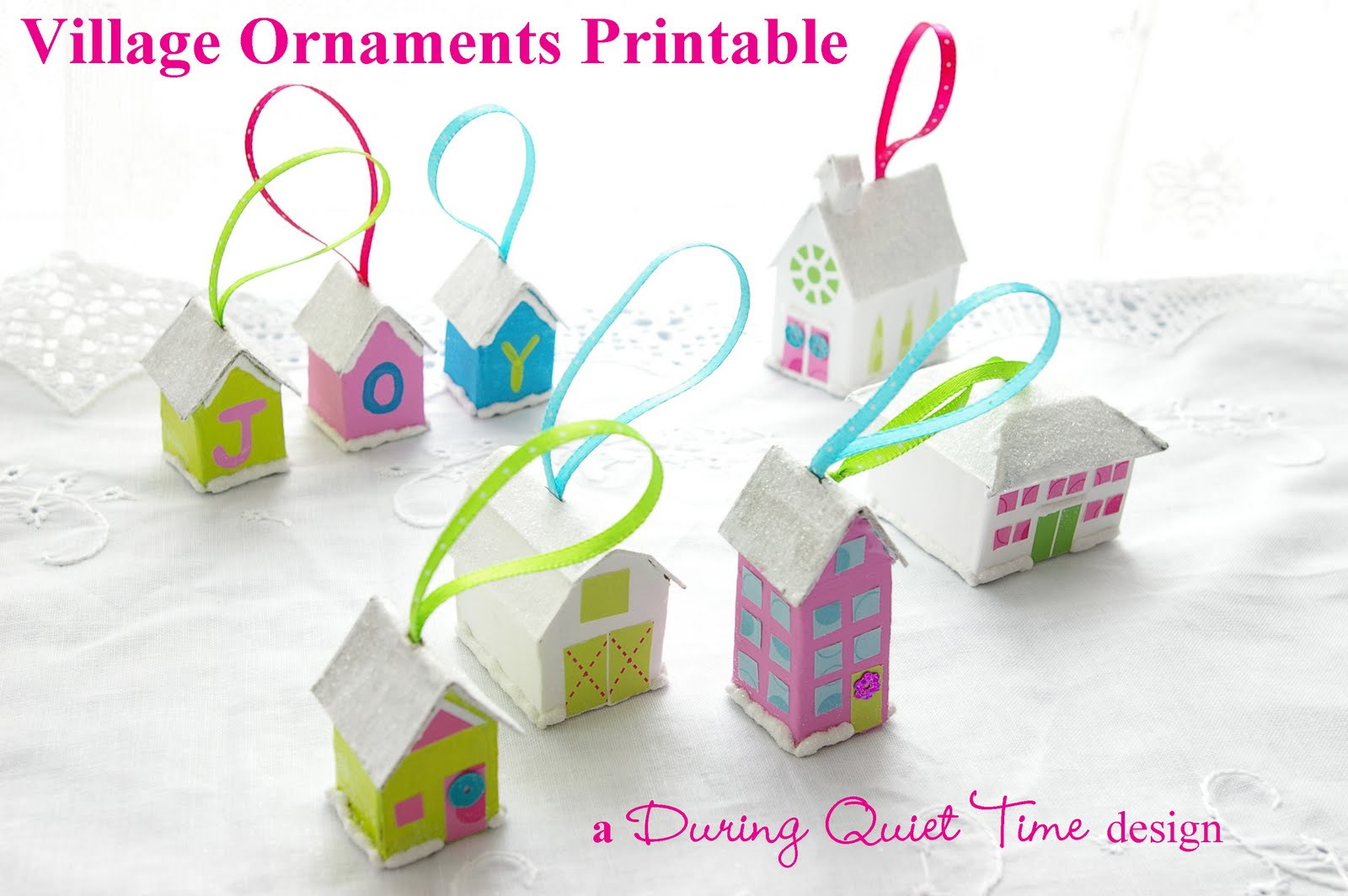 7 best images of printable ornaments to make printable for Printable christmas craft ideas