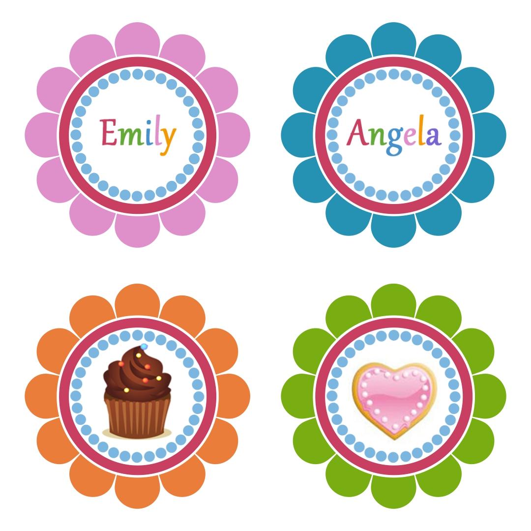 Printable Cupcake Topper Templates