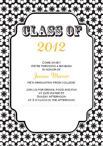 Free Printable Graduation Announcements Templates
