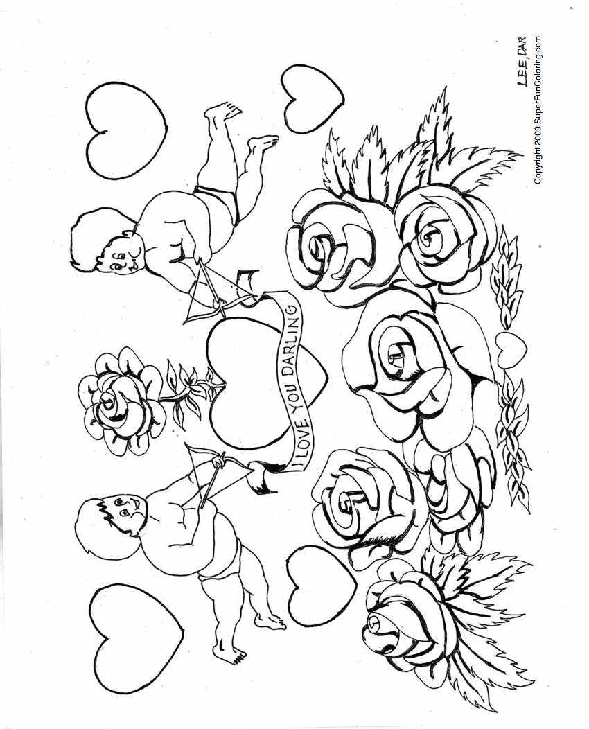 Free Printable Love Coloring Pages