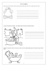 8 Best Images of Printable Hygiene Worksheets For Adults - Free ...