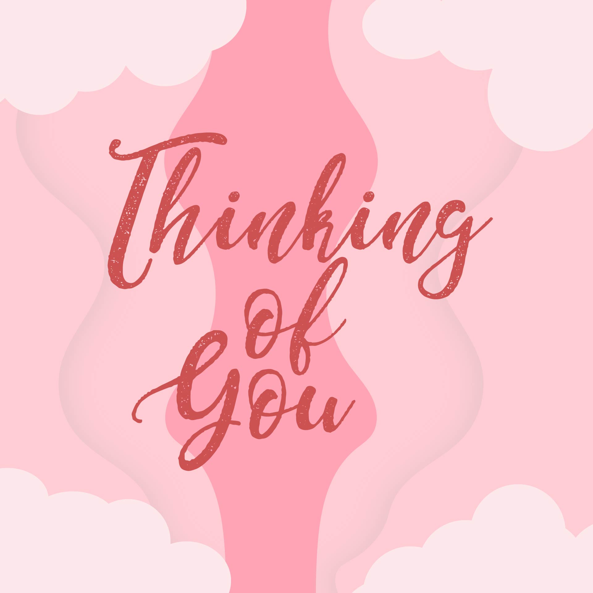 Printable Thinking You Cards